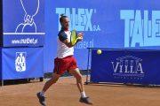 Paweł Ciaś w ćwierćfinale turnieju Talex Open